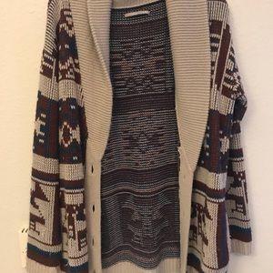 Rubbish Aztec Cardigan